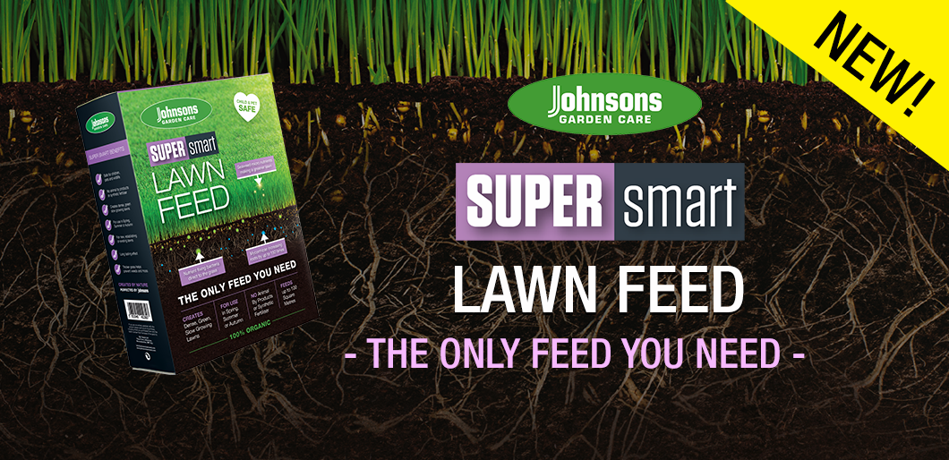 NEW! Johnsons Super Smart Lawn feed - The only feed you need!